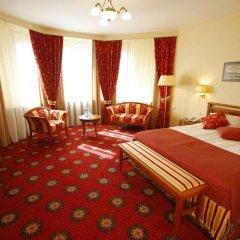 Президент-Отель 4* Номер Делюкс с двуспальной кроватью фото 5