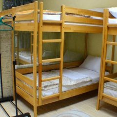 Баллет Хостел Кровать в общем номере с двухъярусной кроватью фото 9