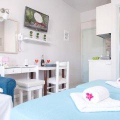 Отель Ilios Studios Stalis Студия с различными типами кроватей фото 33
