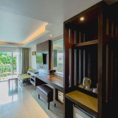 Отель Thanthip Beach Resort 3* Номер Делюкс с двуспальной кроватью фото 15