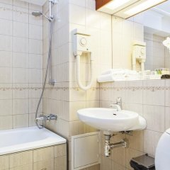 Отель Elite Hotel Residens Швеция, Мальме - 1 отзыв об отеле, цены и фото номеров - забронировать отель Elite Hotel Residens онлайн ванная