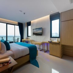 Отель Deep Blue Z10 Pattaya Стандартный номер с различными типами кроватей фото 7