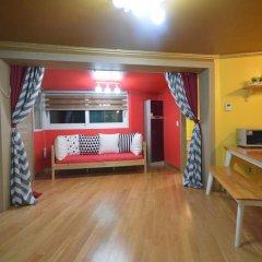 Отель Han River Guesthouse 2* Семейная студия с двуспальной кроватью фото 37