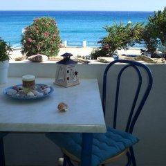 Апартаменты Antonios Apartments Пляж Стегна питание