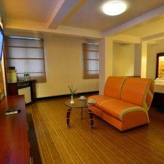 Clover Hotel 3* Номер Делюкс с различными типами кроватей фото 5