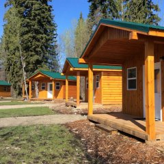 Отель Tete Jaune Lodge сауна
