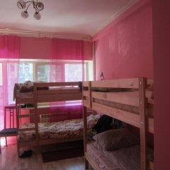 Double Plus Hostel Novoslobodskaya Кровать в мужском общем номере с двухъярусной кроватью фото 4