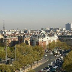 Отель ibis budget Paris Porte de Montreuil балкон