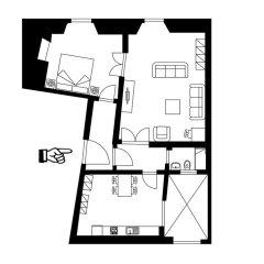 Апартаменты Porta Rossa Suite Halldis Apartment спортивное сооружение