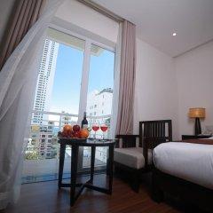 Edele Hotel Nha Trang 3* Улучшенный номер с различными типами кроватей фото 7