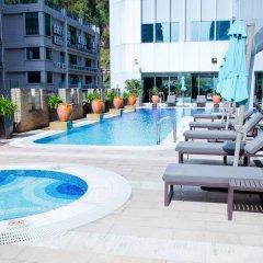 Отель Pan Pacific Xiamen бассейн фото 3