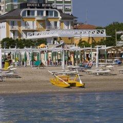 Отель Roma Италия, Риччоне - отзывы, цены и фото номеров - забронировать отель Roma онлайн пляж
