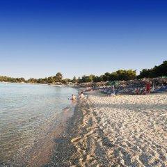 Отель Villa Pefkohori Греция, Пефкохори - отзывы, цены и фото номеров - забронировать отель Villa Pefkohori онлайн пляж фото 2
