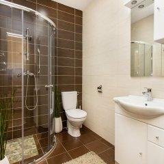Отель Apartamentai 555 Литва, Вильнюс - отзывы, цены и фото номеров - забронировать отель Apartamentai 555 онлайн ванная