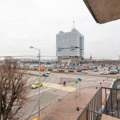 Апартаменты на Пролетарской балкон