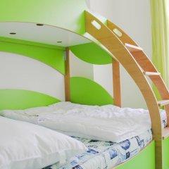 Chillout Hostel Zagreb Кровать в общем номере с двухъярусной кроватью фото 18