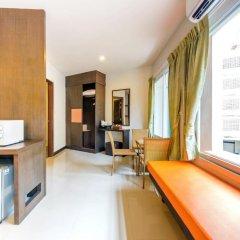 Отель The Three by APK 3* Улучшенный номер двуспальная кровать фото 2