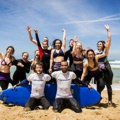 Отель Surf Yoga Ericeira Guest House пляж