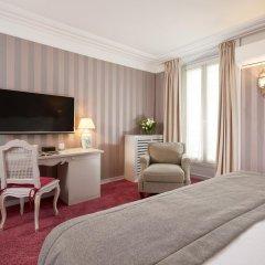 Отель Hôtel Louvre Montana 4* Стандартный номер с различными типами кроватей фото 5
