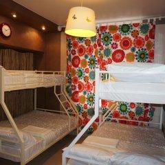 Hostel Berloga Кровать в общем номере с двухъярусной кроватью фото 2