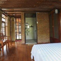 Отель Seaside An Bang Homestay 2* Улучшенный номер с различными типами кроватей фото 9