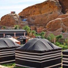 Отель Seven Wonders Bedouin Camp Иордания, Вади-Муса - отзывы, цены и фото номеров - забронировать отель Seven Wonders Bedouin Camp онлайн балкон