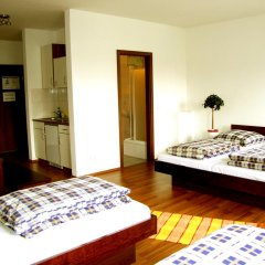 Sleepy Lion Hostel, Youth Hotel & Apartments Leipzig 2* Апартаменты с различными типами кроватей