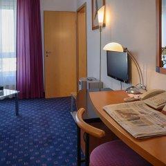 Отель H&S Belmondo Leipzig Airport 4* Стандартный номер с различными типами кроватей фото 4