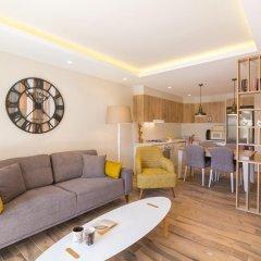 Garden Suites Турция, Калкан - отзывы, цены и фото номеров - забронировать отель Garden Suites онлайн комната для гостей фото 3