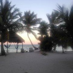 Отель Balamku Inn on the Beach пляж