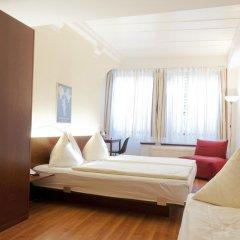 Отель Goldener Schlüssel 3* Стандартный номер с различными типами кроватей фото 5