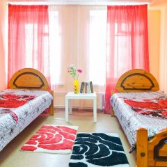Хостел Панда Номер Эконом с 2 отдельными кроватями (общая ванная комната)