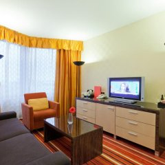 Гостиница Azimut Moscow Olympic 4* Люкс с разными типами кроватей фото 5
