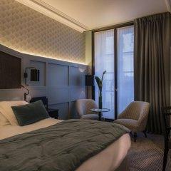 Отель Hôtel DAubusson 5* Улучшенный номер с различными типами кроватей фото 2