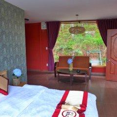 Отель Zen Cafe Lakeside Далат комната для гостей фото 3