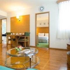 Отель At Ease Saladaeng 4* Номер Делюкс с различными типами кроватей фото 9