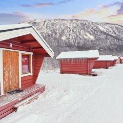 Отель Tromsø Camping Коттедж Эконом с различными типами кроватей фото 3