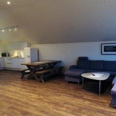 Отель Saltstraumen Brygge 3* Апартаменты с различными типами кроватей фото 13