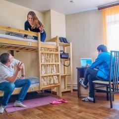 БМ Хостел Кровать в общем номере с двухъярусной кроватью фото 20