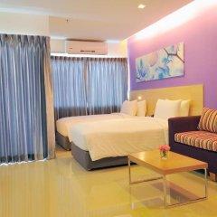 Отель Glow Central Pattaya Паттайя комната для гостей фото 3