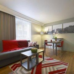 Отель Citadines Trafalgar Square London 3* Апартаменты с различными типами кроватей