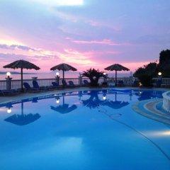 Отель Terezas Hotel Греция, Корфу - отзывы, цены и фото номеров - забронировать отель Terezas Hotel онлайн бассейн фото 2