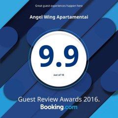 Отель Angel Wing Apartamentai питание фото 2
