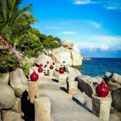 Отель Jamahkiri Resort & Spa пляж фото 2