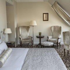 Гостиница Эрмитаж - Официальная Гостиница Государственного Музея 5* Президентский люкс двуспальная кровать фото 6