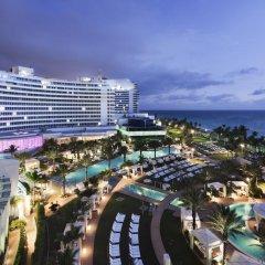 Отель Fontainebleau Miami Beach 4* Стандартный номер с различными типами кроватей фото 18