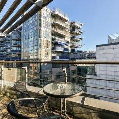 Апартаменты Oslo Apartments - Aker Brygge балкон