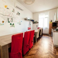 Palmers Lodge Hostel питание