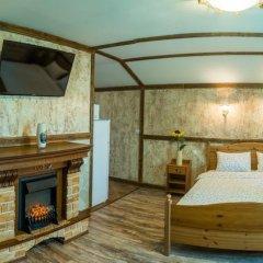 Гостиница Теремок Заволжский Апартаменты разные типы кроватей фото 45