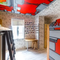 Chillout Hostel Zagreb Кровать в общем номере с двухъярусной кроватью фото 15